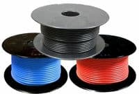 30 METRE CAR MARINE ELECTRICAL COPPER SINGLE COIL WIRE CABLE SPOOL REEL ROLL
